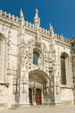 Jeronimos Monastery in Lisbon Stock Photography