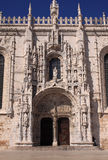 Jeronimos Monastery Lisbon Royalty Free Stock Photos