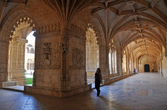 Jeronimos monastery, lisbon Royalty Free Stock Photography