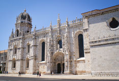 Jeronimos Monastery in Lisbon Royalty Free Stock Photography