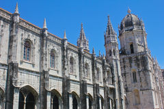 Jeronimos Monastery in Lisbon. Mosteiro dos Jeronimos, Lisbon, Portugal Royalty Free Stock Photo