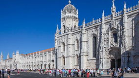 Jeronimos monastery in Lisbon Stock Photos