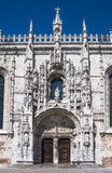 Jeronimos Monastery, Lisbon Royalty Free Stock Images