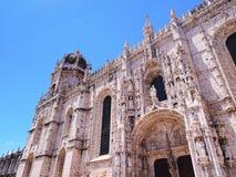 Jeronimos Monastery in Lisbon Royalty Free Stock Photo