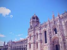 Jeronimos Monastery in Lisbon Stock Photography