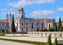 Jeronimos Monastery in Lisbon Stock Photos