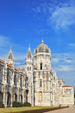 The Jeronimos monastery in Lisbon Royalty Free Stock Images