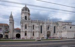 Jeronimos Monastery in Lisbon. Maritime Museum and Jeronimos Monastery in Lisbon, Portugal Stock Photography