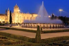 Jeronimos monastery in Lisbon Stock Image