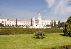 Jeronimos monastery lisbon portugal Stock Photography