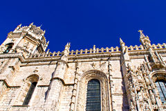 Jeronimos monastery in Lisbon Stock Photo
