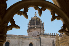 Jeronimos monastery in Lisbon, Portugal. Royalty Free Stock Image