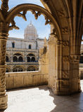 The Jeronimos Monastery - Lisbon Portugal - architecture backgro Royalty Free Stock Image