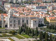 Jeronimos Monastery Lisbon portugal Stock Photo