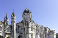 Jeronimos monastery in Lisbon, Portugal Royalty Free Stock Photos
