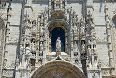 Jeronimos Monastery, Lisbon, Portugal Stock Photography