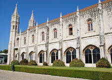 Jeronimos Monastery in Lisbon, Portugal Stock Images
