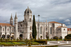 Jeronimos Monastery in Lisbon Portugal Royalty Free Stock Image