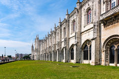 Jeronimos Monastery, Lisbon, Portugal. Famous Unesco Heritage Jeronimos Monastery in Lisbon, Portugal Royalty Free Stock Image