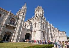 Jeronimos Monastery in Lisbon, Portugal Stock Image