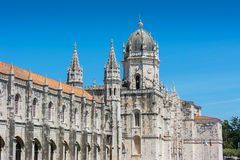 Jeronimos Monastery  Lisbon Portugal Stock Photo