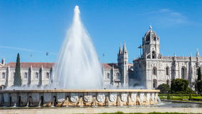 Jeronimos Monastery in Lisbon Stock Images