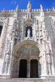 Jeronimos monastery in Belem Stock Photography