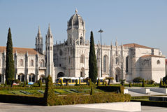 Jeronimos Monastery, Portugal. Royalty Free Stock Photo
