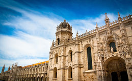 Jeronimos Monastery south facade Royalty Free Stock Photo