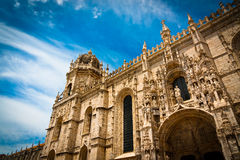 Jeronimos Monastery south portal Stock Image