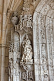 Jeronimos stonework Stock Photography