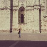 jeronimos van igrejados in Lissabon Royalty-vrije Stock Afbeelding