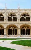 Jeronimosklooster in Belem, Lissabon, Portugal Manuelinestijl Unesco-Werelderfenis 25 kunnen 2017 Royalty-vrije Stock Foto