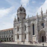 Jeronimosklooster in Lissabon, Jeronimush royalty-vrije stock foto's