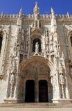 jeronimoslisbon kloster portugal Arkivbilder