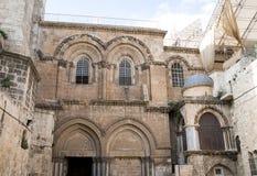 Jerozolima, kościół Święty Sepulcher Obrazy Stock