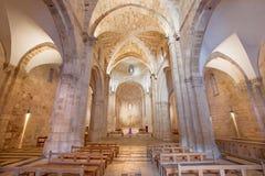 Jerozolima - nave St Anne kościół Fotografia Stock
