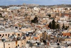 Jerozolima stary miasto Obrazy Royalty Free