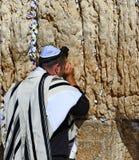 Jerozolima, western ściana, modlitwa zdjęcie royalty free