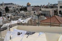 Jerozolimscy miasto widoki Obraz Royalty Free