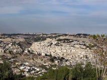 Jerozolimska panorama 2012 Zdjęcia Royalty Free