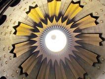 Jerozolimski Święty Sepulcher wierzchołek środkowa kopuła 2012 obraz stock