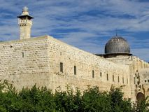 Jerozolimski Aksa meczet 2012 Obrazy Royalty Free