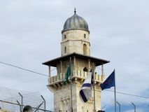 Jerozolimski Ghawanima minaret 2012 Fotografia Stock