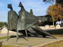 Jerozolimski Haas deptak rzeźbi 2010 Fotografia Royalty Free