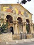 Jerozolimski kościół Wszystkie naród fasada 2012 Zdjęcie Royalty Free