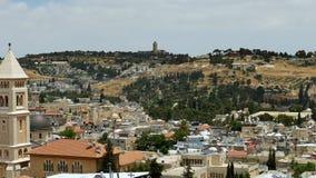 Jerozolimski panoramiczny widok z lotu ptaka zbiory