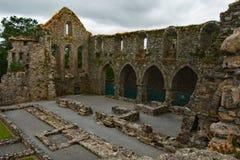 Jerpoint Abbey Central Ireland imagen de archivo libre de regalías