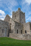 Jerpoint abbey. Outer walls of Jerpoint abbey in Ireland Royalty Free Stock Photos