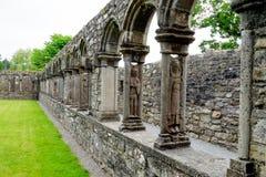 Jerpoint Abbey near Thomastown, County Kilkenny, Ireland royalty free stock photography